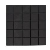 6 Pack Set Acoustic Foam Panels High Density Soundproof Foams Panels Wedges