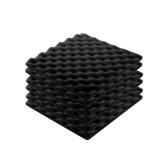 6pcs Recording Soundproof Foam Video Room Sound Noise Insulation Sponge Wall Deadening