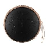 12 pollici Tamburo di lingua portatile in acciaio 11 note C Chiave Handpan Drum Travel Drum Drum Percussion Instrument