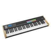 WORLDE P61 Pro 61 touches USB contrôleur de clavier MIDI écran LCD