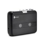 3.5mmヘッドフォンジャックボリュームコントロール付きミニカセットプレーヤーテープレコードFMラジオ