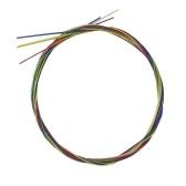 4pcs / set de cordes ukulélé pour cordes colorées ukulélé 21 pouces / 23 pouces / 26 pouces