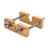Removedor de la herramienta profesional Ajustable Boquilla del tirador de latón trompeta, trombón, bombardino Cuerno Boca de plata pieza