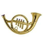 楽器の玩具4色のキーを持つフレンチホーンキッズ子供のためのミュージカルギフト
