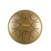 Muslady 6-дюймовый мини-стальной барабан для языка