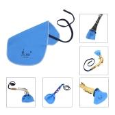 Clarinetto Flauto Piccolo Sax Saxphone panno di pulizia per tubo interno