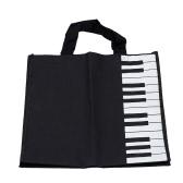 ピアノの鍵盤音楽ハンドバッグ トートバッグ ショッピング バッグ ギフト