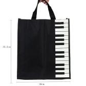 Klawisze fortepianowe Torebkę muzyczną Tote Shopping Bag Gift