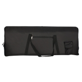 Portable 76-Key Keyboard Piano elétrico acolchoado Case Gig Bag Oxford Cloth
