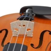 1/2 バイオリンパーツ バイオリンブリッジ バイオリン駒 メープル ブリッジ 駒35mm/1.4in 弦楽器 バイオリン対応【並行輸入品】