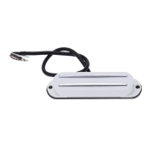 Dual Hot Rail Single Coil Humbucker Pickup 4 Wire for Electric Guitar