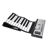 Flexible rueda para arriba el teclado virtual Electronic portátil Piano 61 teclas