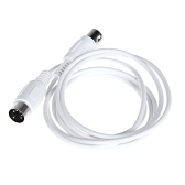 MIDI Extension Cable Male to Male 5 Pin 1.6M/5.25FT