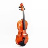 4/4フィドルシナのバイオリン スチールの弦 アーバーの弓弦楽器 音楽愛好家や初心者に適用