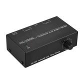 Audiophile Preamplificatore preamplificatore phono M / M con controlli di livello Interfacce di ingresso e uscita RCA