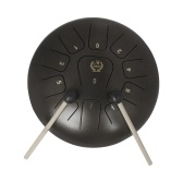 12 Inch Steel Tongue Drum 11-Tone Hand Pan Drum