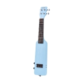 "ammoon  21"" Solid Wood Okoume Electric Ukelele Uke Kit"