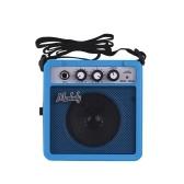 Muslady 5W Mini Amplificador de Guitarra Amplificador de Altavoz