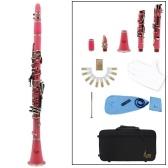 Clarinete ABS 17 Key bB Clarinete binocular Soprano plano