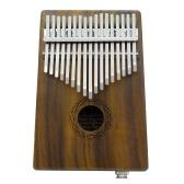 17鍵EQサムピアノカリンバ・ムビラ・サンザ・ソリッドアカシア
