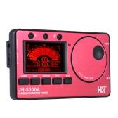 3 in 1 elettronica digitale del metronomo del sintonizzatore Tone Generator Display incorporato LCD Mic sintonia per chitarra cromatica Bass Ukulele Violino