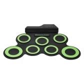 Kit de tambor enrollable electrónico digital compacto de tamaño compacto para principiantes niños de práctica