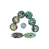 9szt. Kolorowe wkładki z guzikami Abalone Shell na saksofon tenorowy / altowy / saksofonowy