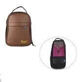 Kalimba Bag Thumb Piano Mbira Soft Case Box in pelle PU resistente agli urti resistente agli urti con cinturino