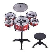 Kinder Kinder Jazz Drum Set Kit Musical Bildungsinstrument Spielzeug