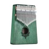 Piano de pulgar portátil Kalimba de 17 teclas
