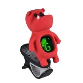 Cute Cartoon Bulldog Clip-On Tuner