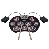 G800 Electronic Drum Pad USB Cable Foldable Roll Up Digital Drum Set