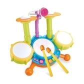 子供の電子音楽ドラムセットキッズジャズドラムおもちゃ