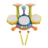 Muslady Kids Drum Set Toy Electronic Drum