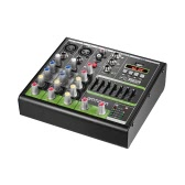 ammoon Compact Size 4-Channel Digital Audio Mixer Mixing Console