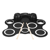 Portable USB Stereo Digital Electronic Drum Kit Set