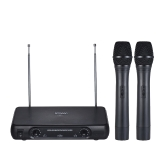 Ammoon VHF Wireless Microphone System Handheld Microphone Karaoke professionale per Smart Phone / iPad / PC / Tablet