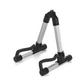 Ukulele universale universale Stand Ukelele Uke Holder A-Frame lega di alluminio Accessori per strumenti a corda per 18-26 pollici Ukuleles