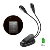 Musical Instrument Accessory Clip On Reading Light Music Stand Lamp