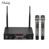 Muslady KLU3 UHF Wireless Microphones Set
