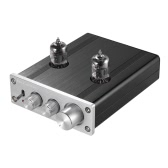 Mini-HiFi-6J1 Vacuum Tube Stereo-Audio-Vorverstärker Preamp Buffer Aluminiumlegierung mit Power Adapter