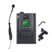 Przenośny instrument UHF Bezprzewodowy mikrofon z odbiornikiem i nadajnikiem 32 kanały dla skrzypiec