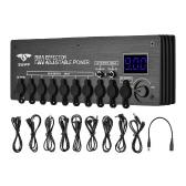 SWIFFミニギターエフェクト電源ステーション9絶縁DC出力9V 12V可変電圧9-24Vギターエフェクト用電源ケーブル電源アダプター