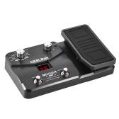 Il pedale di effetti del processore multifunzionale della chitarra di MOOER GEM BoX supporta la funzione di sintonia con la modalità di memorizzazione del pedale di espressione