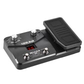 MOOER GEM BoXギターマルチエフェクトプロセッサーエフェクトペダルは、エクスプレッションペダルのストアモードでチューニング機能をサポートしています