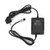 ハイパワーミキシングコンソールミキサー電源ACアダプター18V 1600mA 60W 3ピンコネクタ220V入力EUプラグ用ヤマハMG16 / 6FX / MG166C / MG166CXおよびその他の10チャンネル以上のミキシングコンソール
