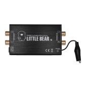 Preamplificatore microfonico Mini MM Preamplificatore con interfacce di ingresso e uscita RCA in lega di alluminio