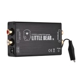 Mini MM Phono Preamp Preamplifier with RCA Input & Output Interfaces Aluminum Alloy