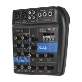 Muslady S-1 Portable 4-Channel BT Mixing Console