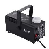 Inalámbrico de 400 vatios Fogger Fog Smoke Machine con control remoto para Party Live Concert DJ Bar KTV Stage Effect